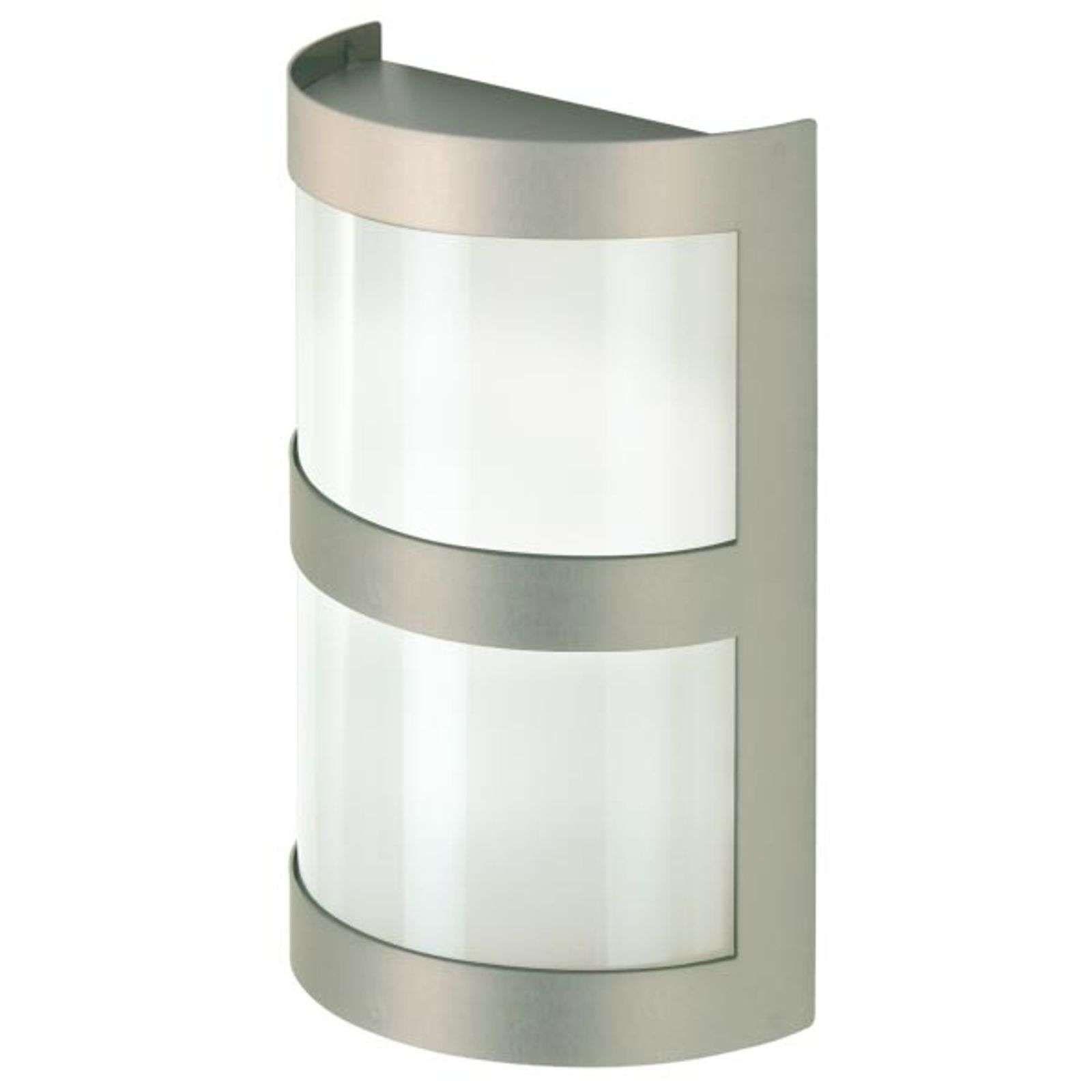 Applique En Inox De Fabrication Allemande Wandleuchte Edelstahl Stahl