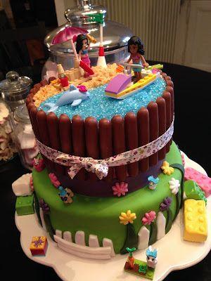Joyeux Anniversaire à Ma Nièce Chérie Margaux 4 Sponge Cake