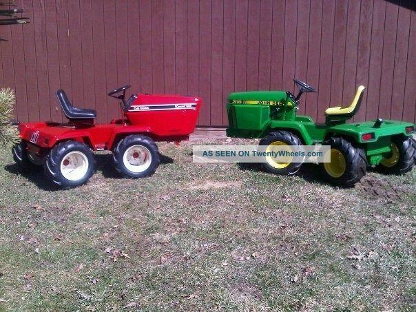 Custom Built Garden Tractors Case 4x4