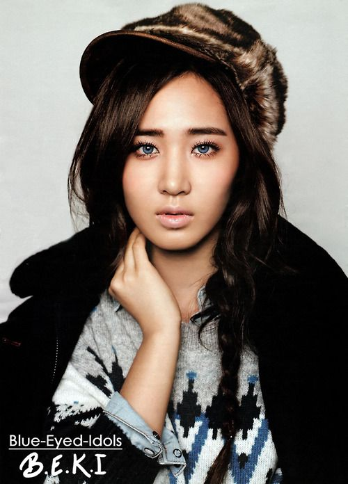 Blue Eyed Idols Yuri Girls Generation Girls Generation Kwon Yuri