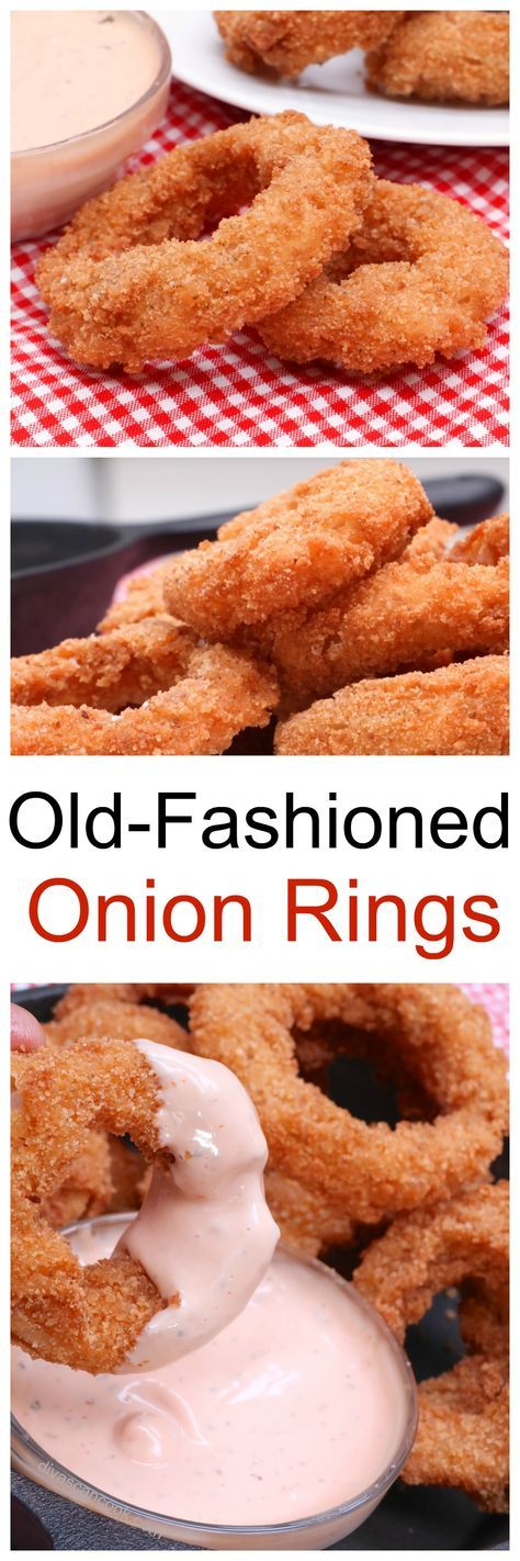 Crispy Buttermilk Onion Rings Recipe Food recipes