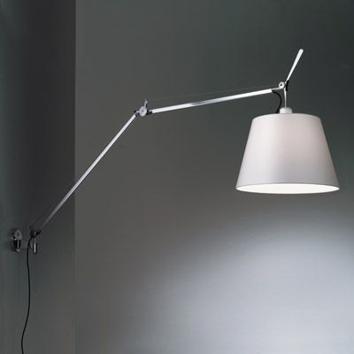 Tolomeo Mega Wall Light With Diffuser By Artemide