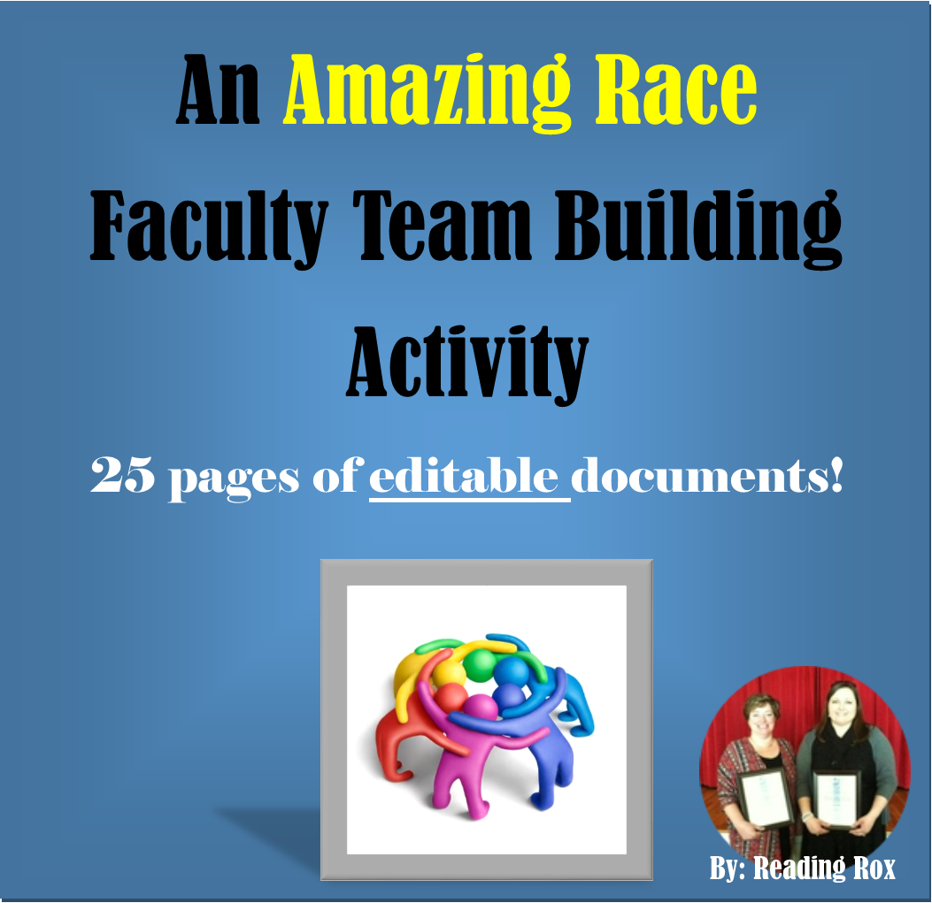 Amazing Race Faculty Fun! Team Building Activity *Back To School
