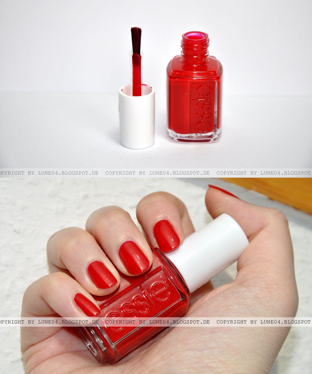 Essie - Really Red | dancenowblog - Swatches & Looks | Pinterest ...