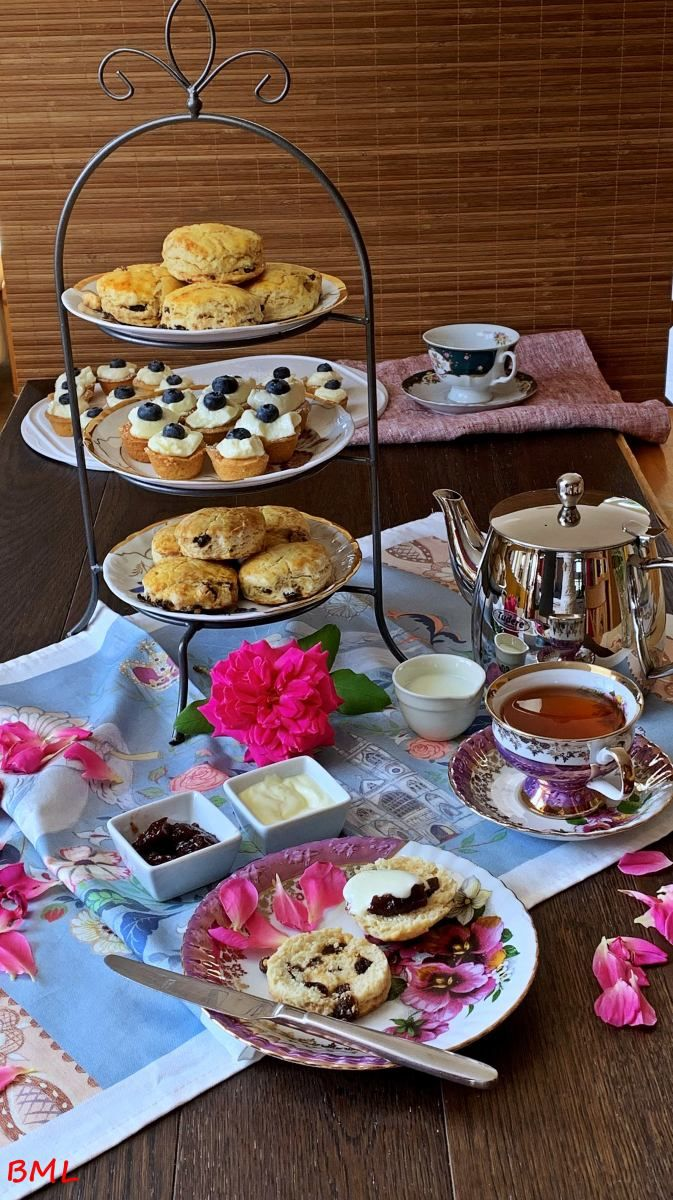 Scones mit Portwein-Rosinen…zum Afternoon Tea