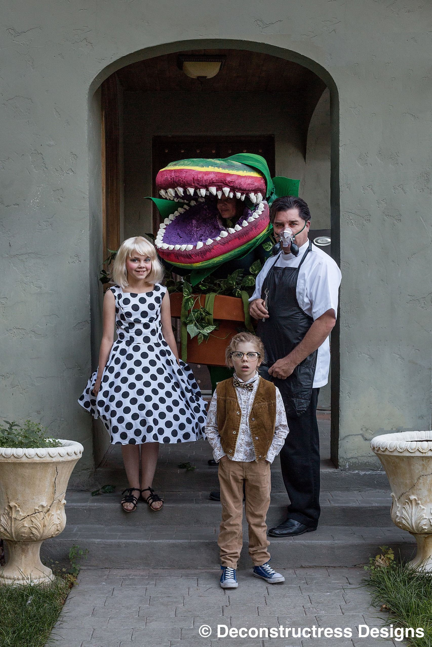 Little Shop of Horrors Family Costume Cool halloween