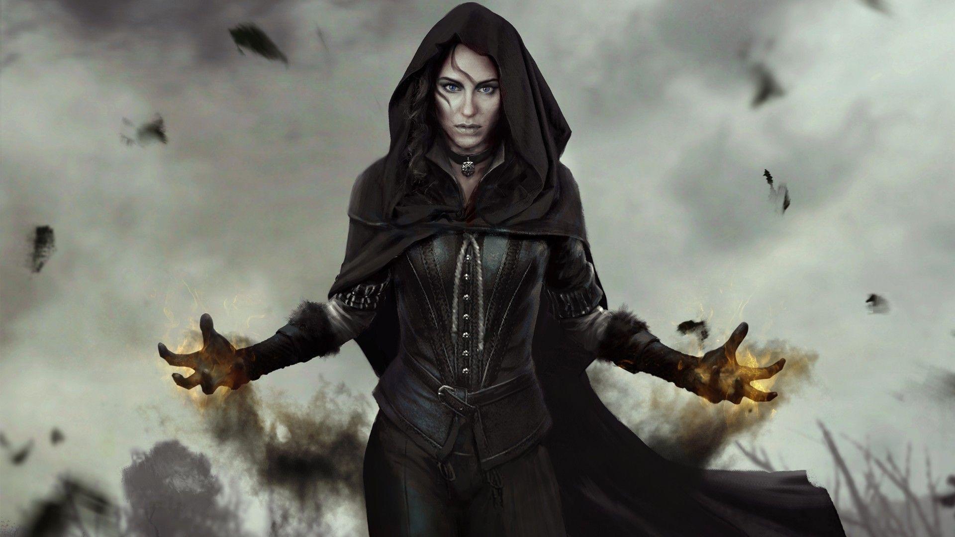 The Witcher 3 Wild Hunt Yennefer Of Vengerberg The Witcher Video Games Wallpaper The Witcher The Witcher 3 Witch Wallpaper
