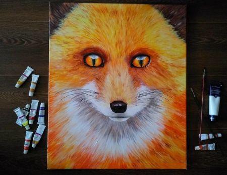 Лисица | Картины, Галерея