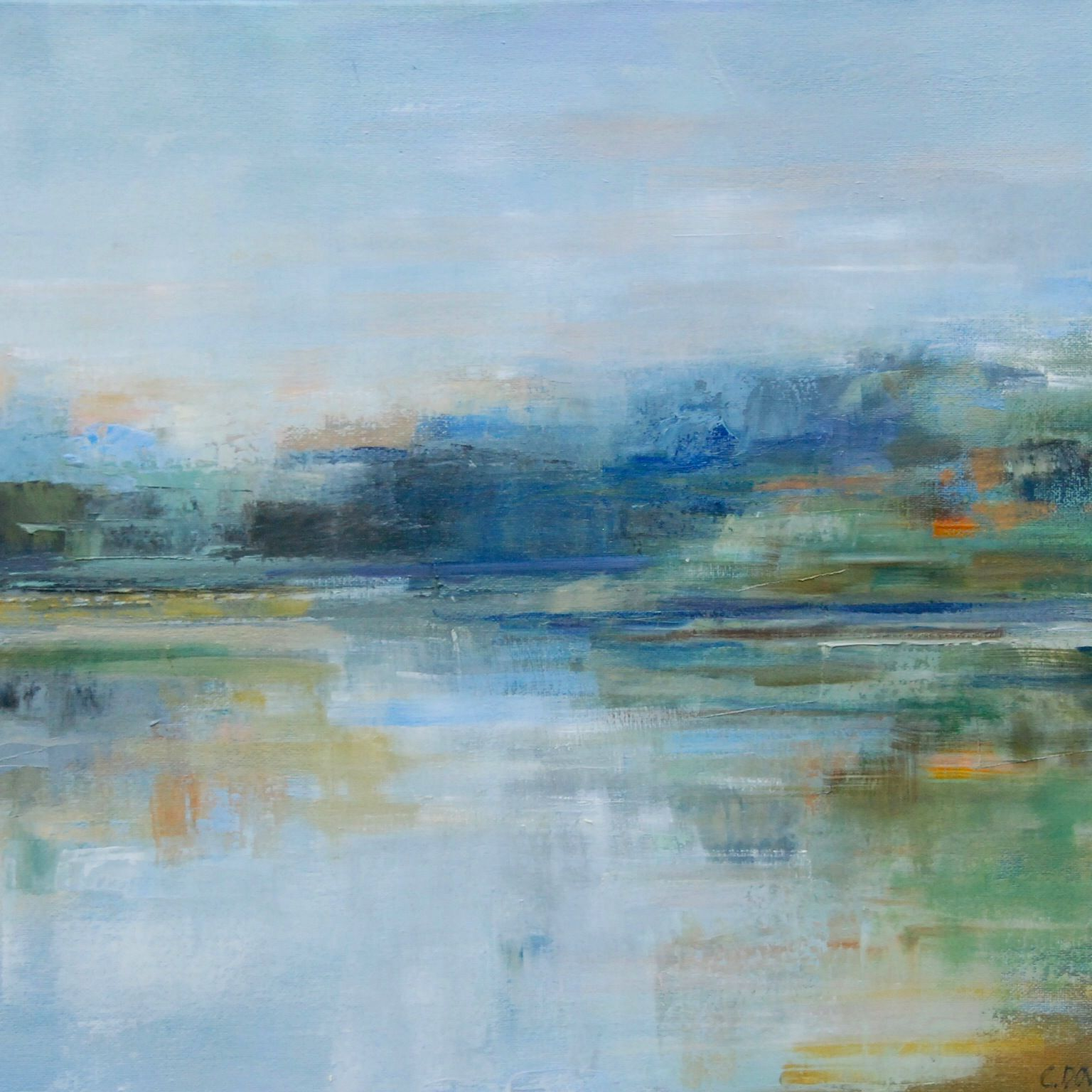 Breaking Dawn Christina Dowdy Landscape Art Abstract Abstract Landscape Contemporary Modern Art Abstract Art Landscape Contemporary Abstract Art Abstract