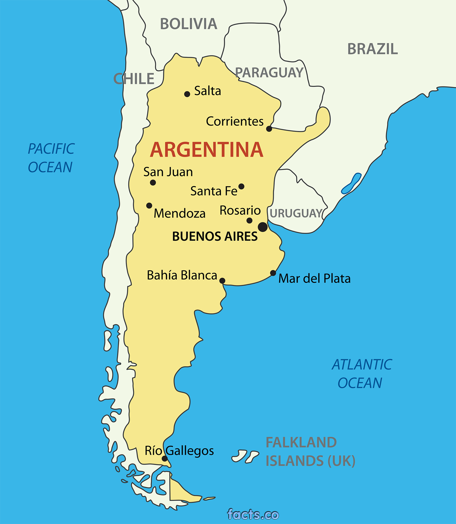 ArgentinaMapwithCitiespng 16001838 places Pinterest