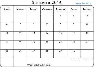 free printable calendar free printable calendar september free