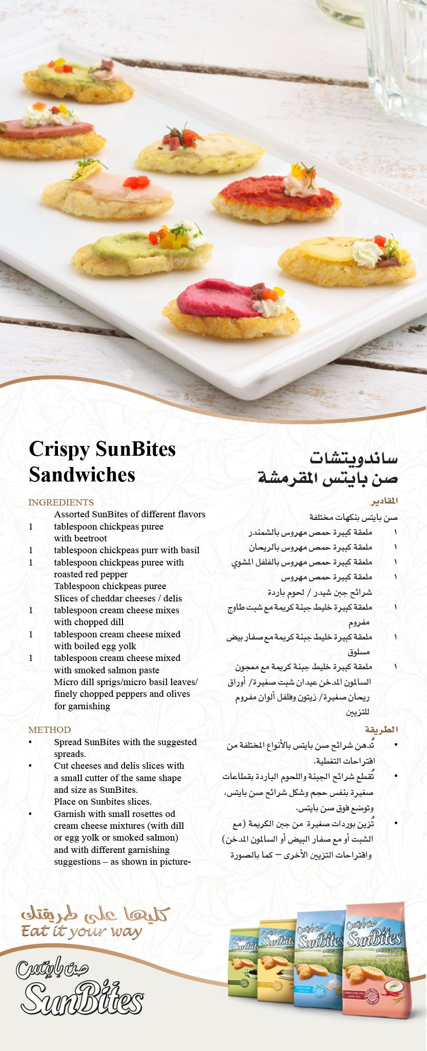 Sunbites Arabia Arabic Food Recipes Food