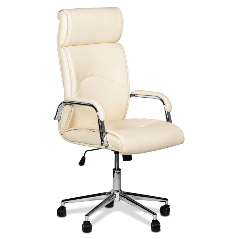 Prezidentski Stol Carmen 6050 Slonova Kost Office Chair Chair Home Decor