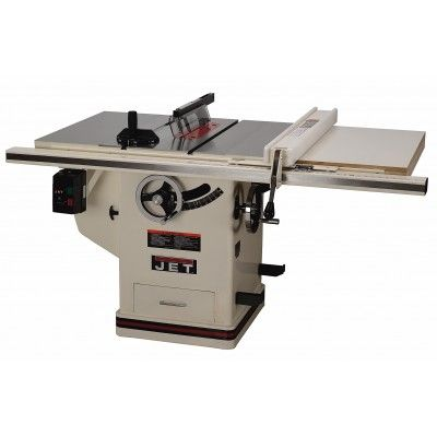 The Jet Proshop Table Saw Offers Features You Expect From A High End Cabinet Saw In The Compact Design Of A Contra Jet Tools Table Style Home Decor