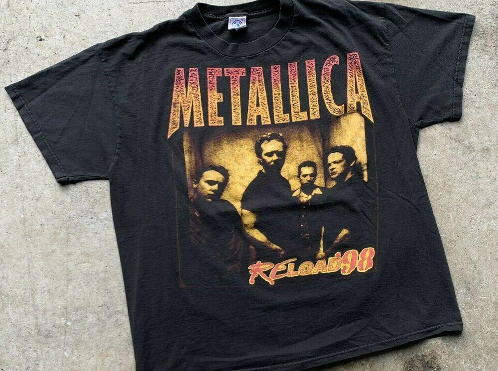 Vtg Metallica Reload 1998 tour tshirt medium