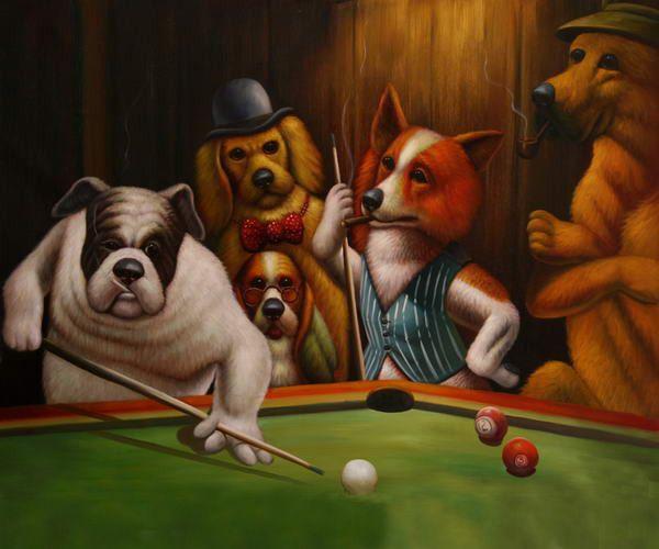 Perros Juegan Poker Buscar Con Google Surrealismo Pinterest