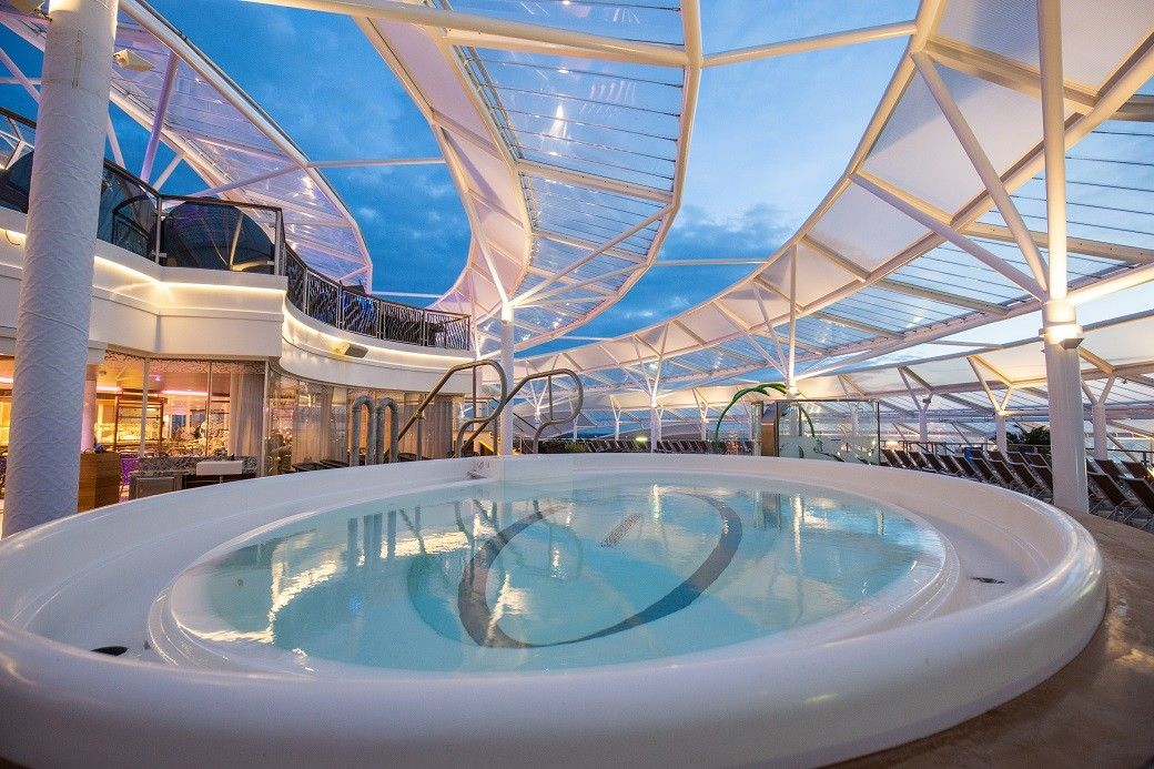 Inside The World 39 S Biggest Cruise Ship Cruise Ship Interior Pinterest Cruise Ships