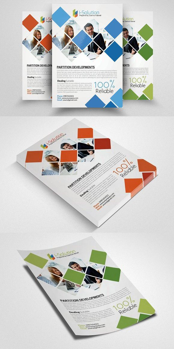 Business Finance Agency Flyer Creative Business Card Templates