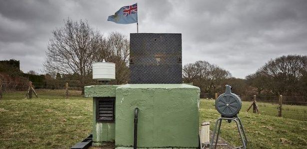 Abertos para visitação, bunkers britânicos são ruínas silenciosas preservadas da Guerra Fria