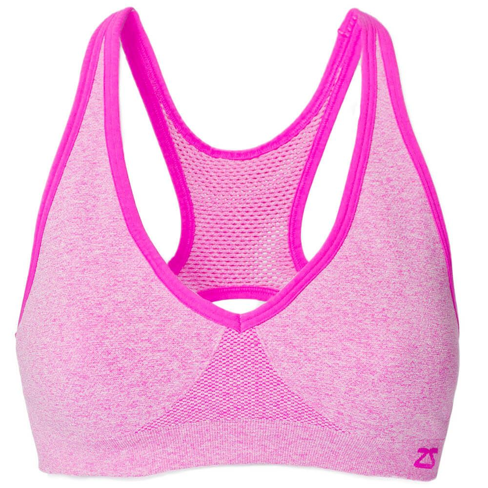 Racey Sports Bra Pink sports bra, Racerback sports bra