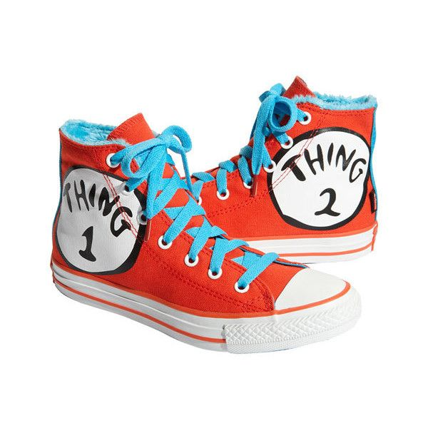 d6cb056a5c Converse Chuck Taylor®  Dr. Seuss - Thing 1   Thing 2  Sneaker (Toddler
