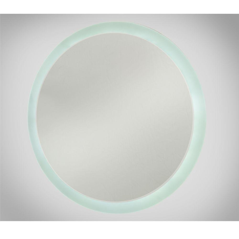 Round LED Illuminated Bathroom Mirror | Final bathroom plan ...