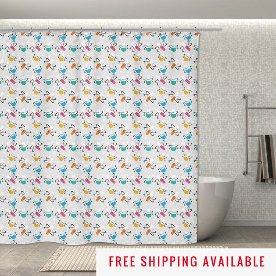 Science Shower Curtain Beaker Molecules 70x70 Quot Geek Shower Curtain Great Bathroom Geek Decor With Images Home Goods Decor Home Improvement Leads Home Improvement