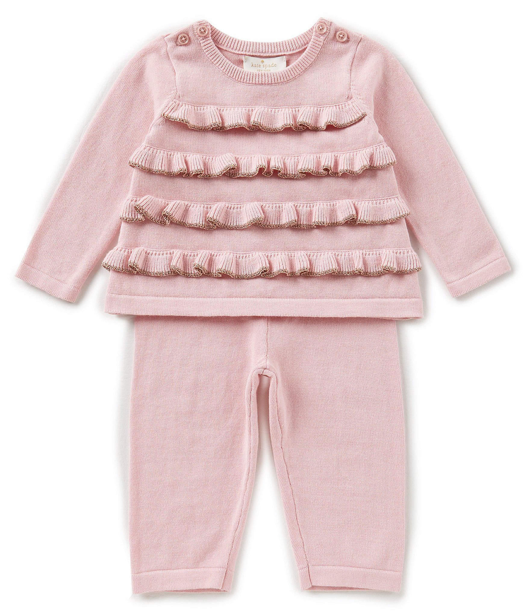 87dab1a04 Shop for kate spade new york Baby Girls 3-9 Months Ruffle Sweater ...