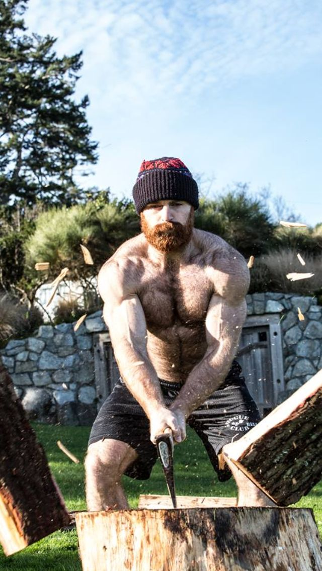 lumberjack woods Hairy