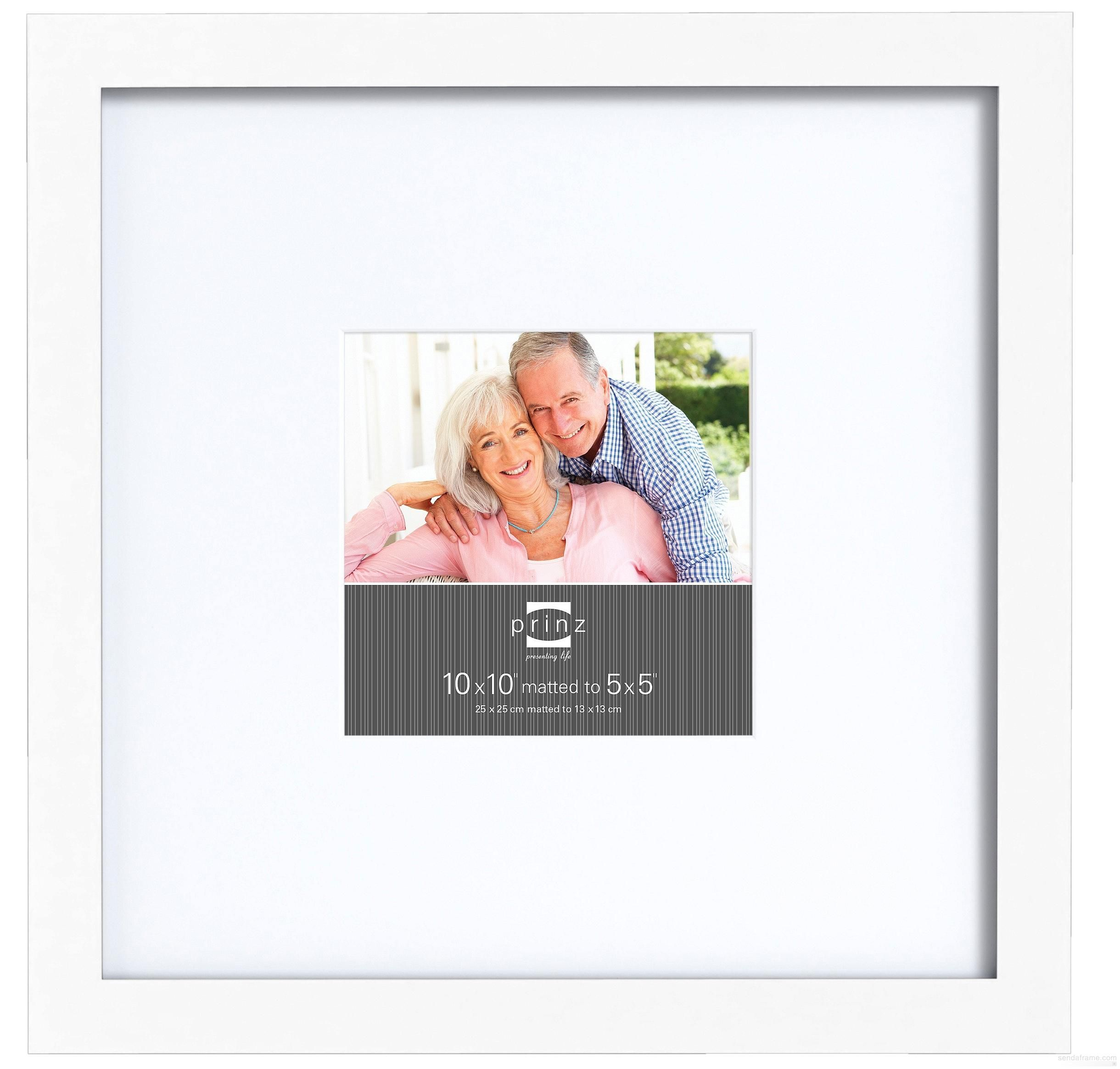 Gallery Expressions White 10x10 5x5 Frame W White Mat By Prinz Picture Frames Photo Albums And Picture Frame Gallery Picture Frame Colors Picture Frame Sizes