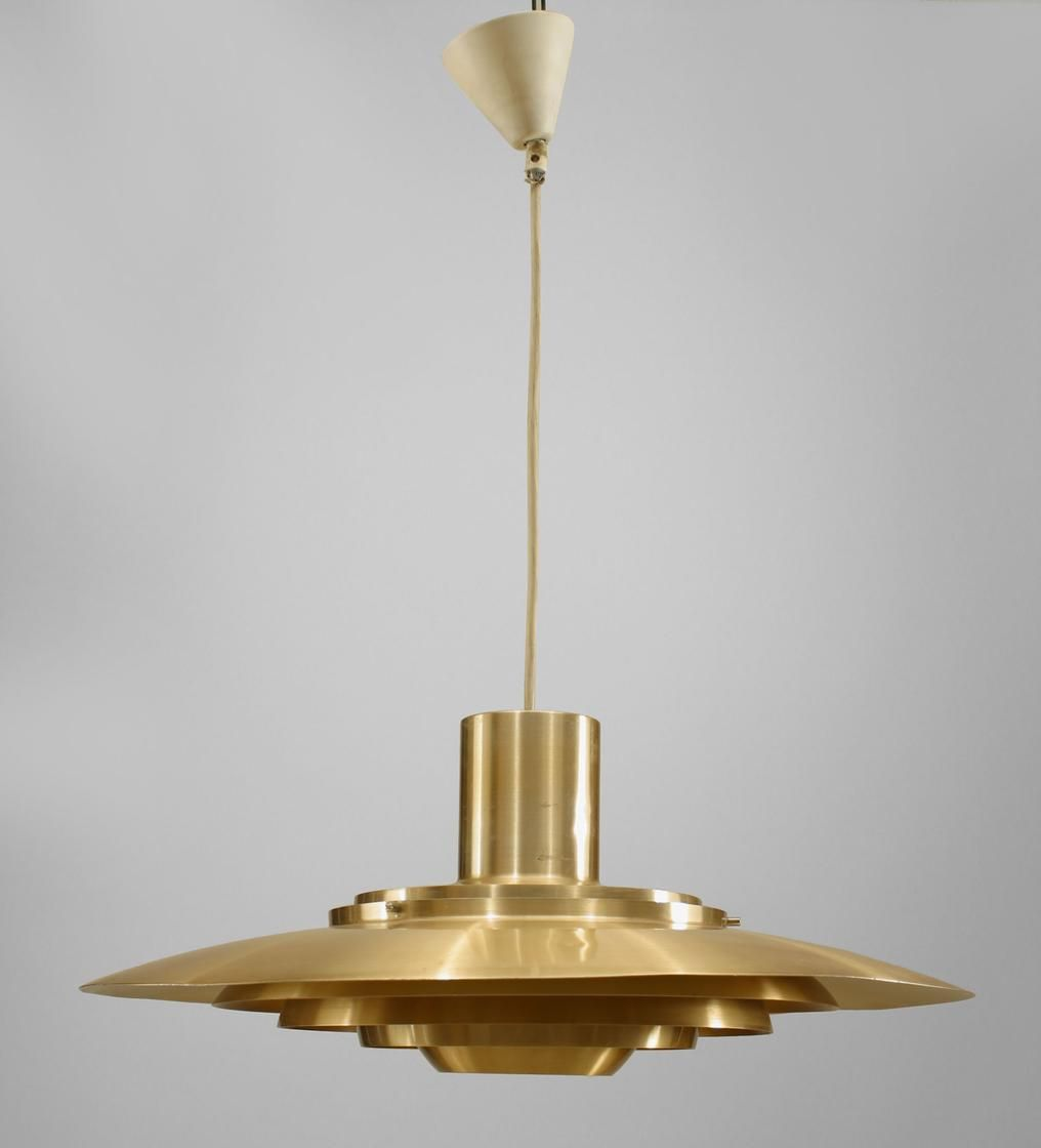 Post war design scandinavian lighting chandelier brass post war design scandinavian lighting chandelier brass arubaitofo Image collections