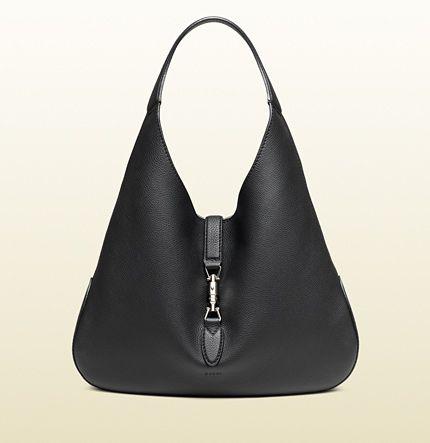 570141eaad6c Jackie Soft Leather Hobo Bag