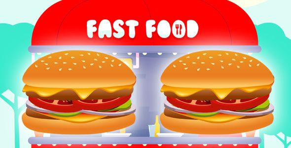 Download Free              Fast Food            #               android #android games #burger #food #ios #ios games #kids games #unity #unity 3d #unity3d