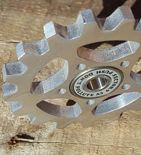 Fidget Spinner The Schproket Steampunk Spinner Aluminum
