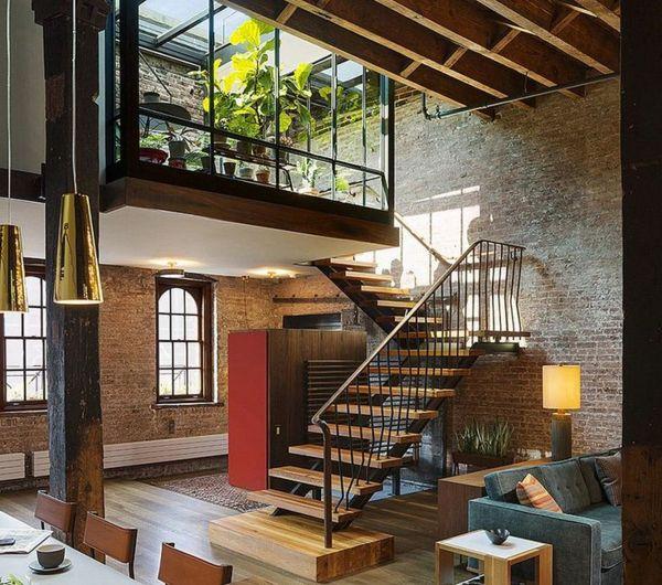 choisir un escalier pour mezzanine pour son loft homes pinterest loft mezzanine and home. Black Bedroom Furniture Sets. Home Design Ideas