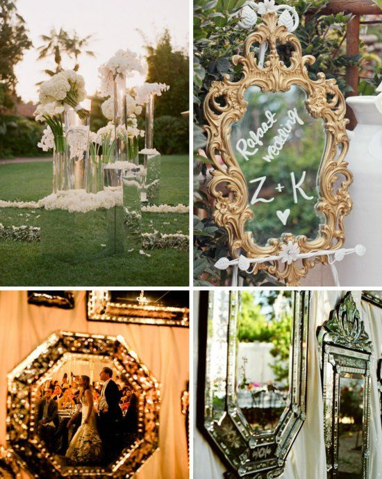 Mirror Mirror on the Wall... Make My Wedding Sparkliest of All