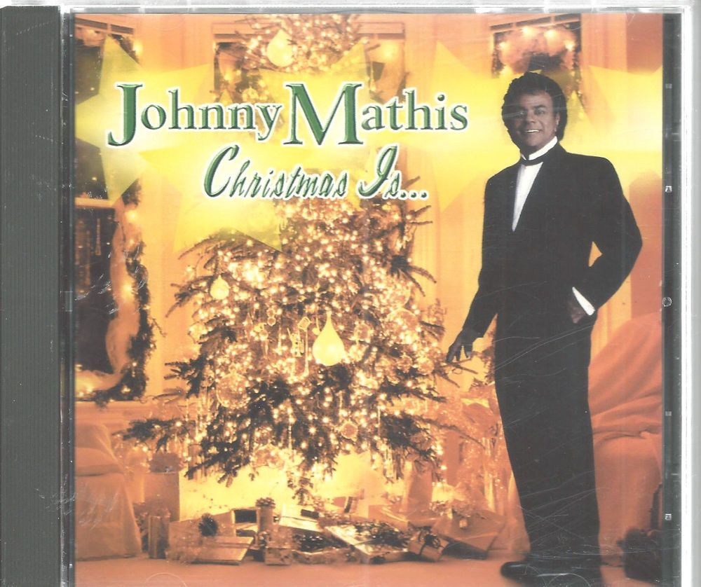 CD Johnny Mathis Christmas Is 1999 Ave Maria First Noel Jingle Bells ...