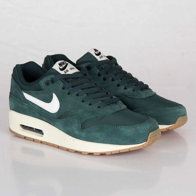 newest 89830 18861 Nike Air Max 1 Essential Pro Green  Sail