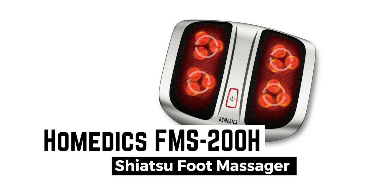 Homedics shiatsu elite foot massager