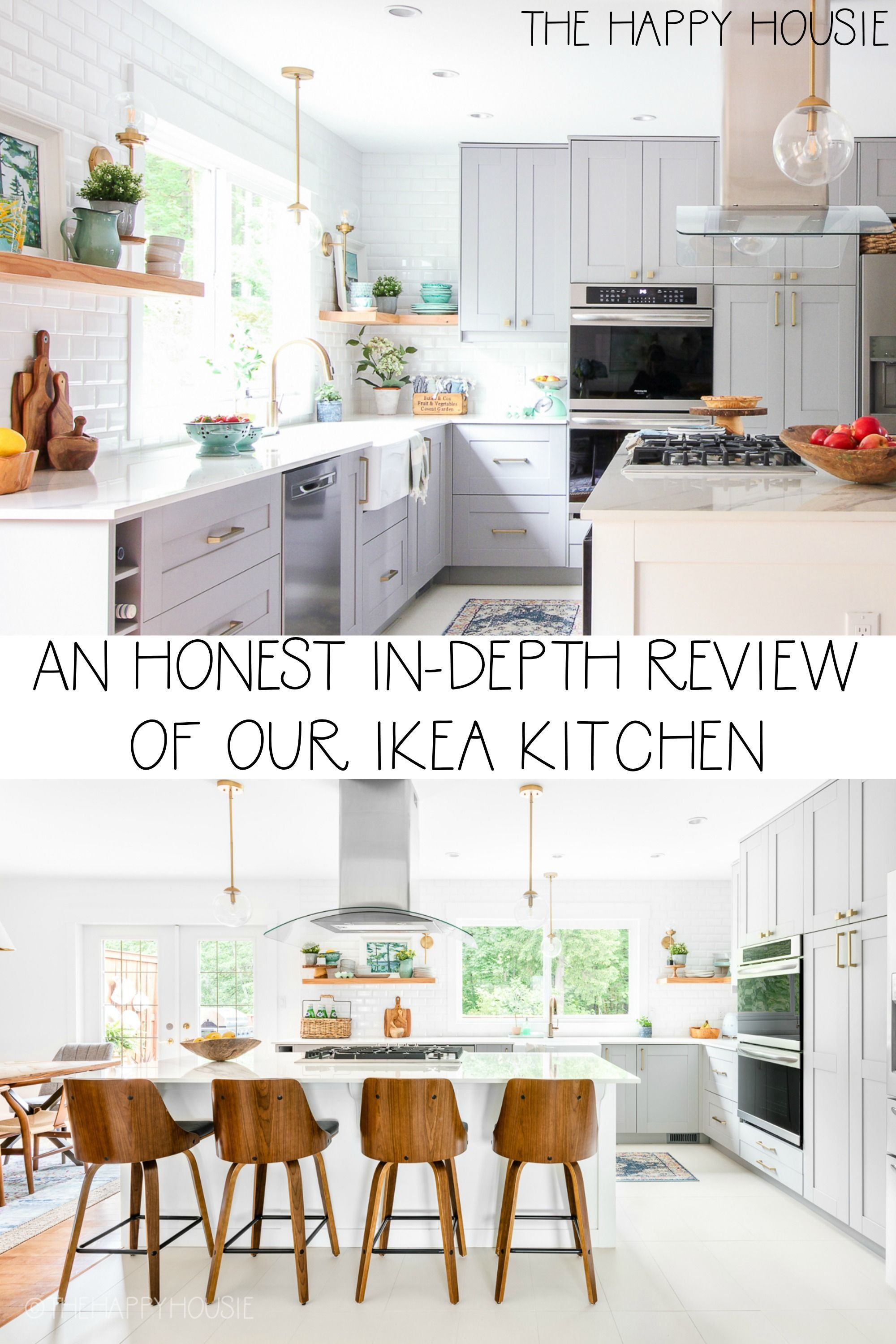 An Honest In Depth Review Of Our Ikea Kitchen The Happy Housie In 2020 Ikea Kitchen Kitchen Inspirations Kitchen Cabinet Door Styles