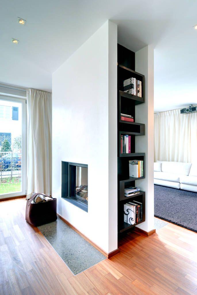 Moderne Wohnzimmer Bilder Privathaus Heidelberg Inspiration - moderne wandgestaltung wohnzimmer lila