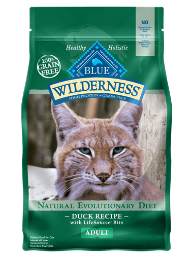 Inspired By The Diet Of The Lynx Blue Wilderness Reg Is A High Protein Grain Free Cat Food Made With More Of The Meat With Images Dry Cat Food Cat Food Cat