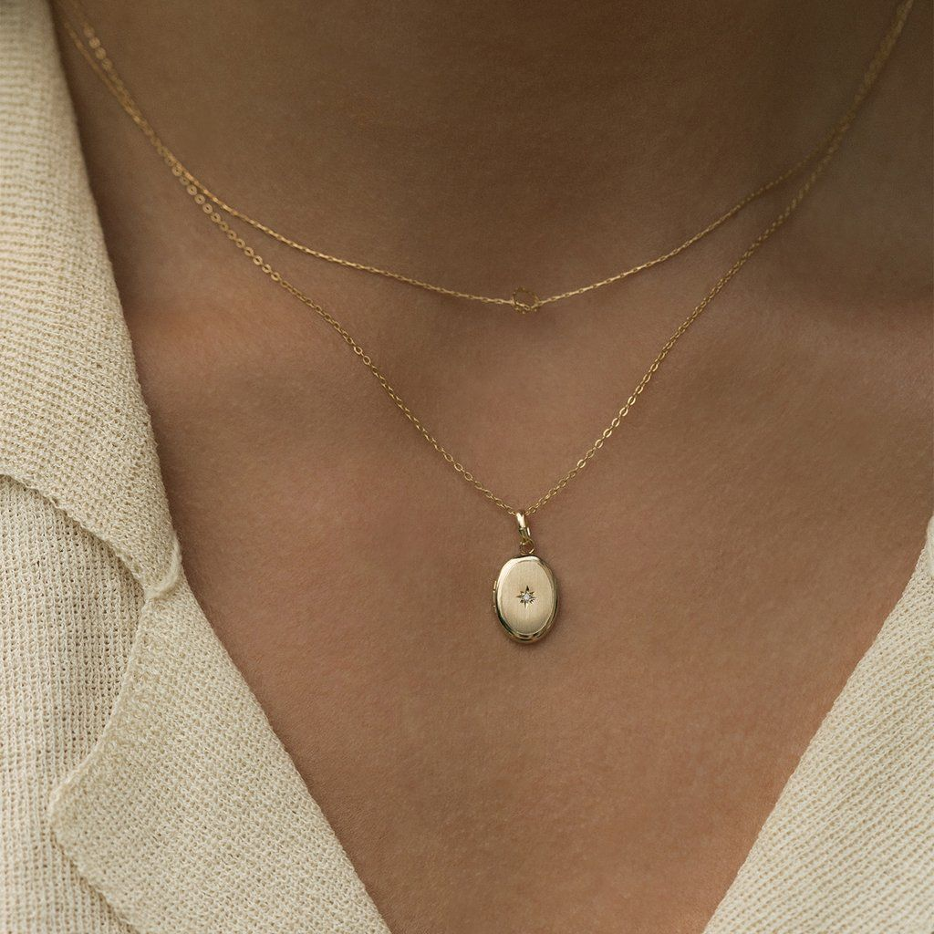 Mia Diamonds 14k White Gold Polished and Satin Miraculous Medal Pendant