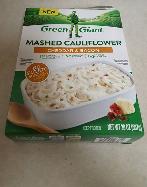 Green Giant Mashed Cauliflower Mashed Cauliflower Green Giant Mashed Cauliflower Cauliflower