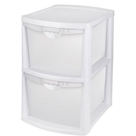 Sterilite Large  Drawer Unit White