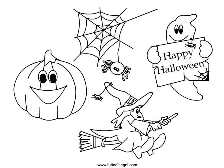 Risultati Immagini Per Disegni Halloween Da Colorare Gratis Arte
