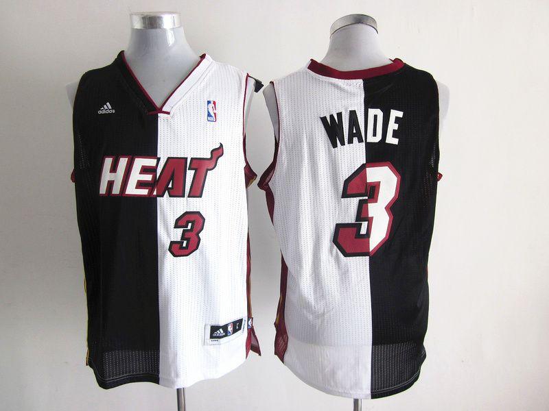 f4def9bf66c ... discount 20.99 nba miami heat wade 3 mens adidas jerseys black white  9b13d de5f9