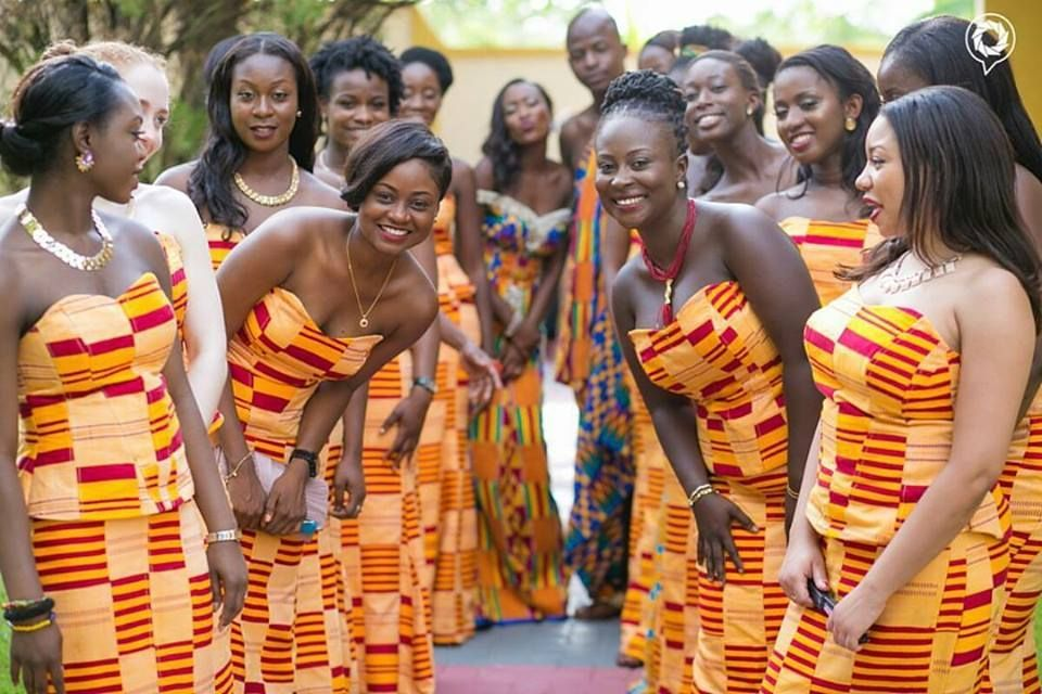 Image result for kente styles Ghana traditional wedding