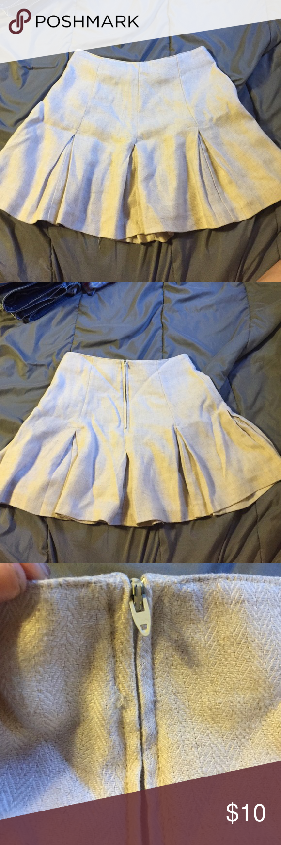 (SOLD) Size 5/6 Cristina pleated skirt Cute skirt. Excellent condition Cristina Skirts Circle & Skater