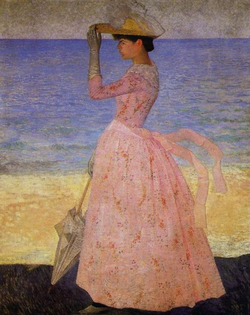 Aristide Maillol - Woman with Umbrella, 1896
